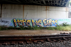 Here We Come (Hahn Conkers) Tags: columbus ohio graffiti hwc spellout crewspellout