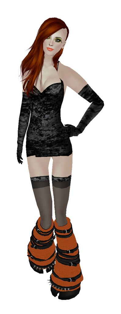 ~Sassy!~ Fashion Freaks Hunt 2 - Rawrrr velvet dress