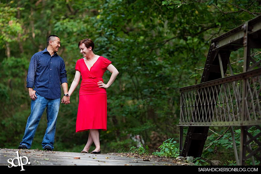 Watkins Mill State Park engagement photographers