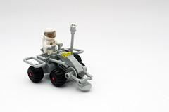 LL 193   NCS Lunar Rover (Chiefrocker9000) Tags: lego space rover walker slug glug moc ncs neoclassicspace swisslug ll191 ll193