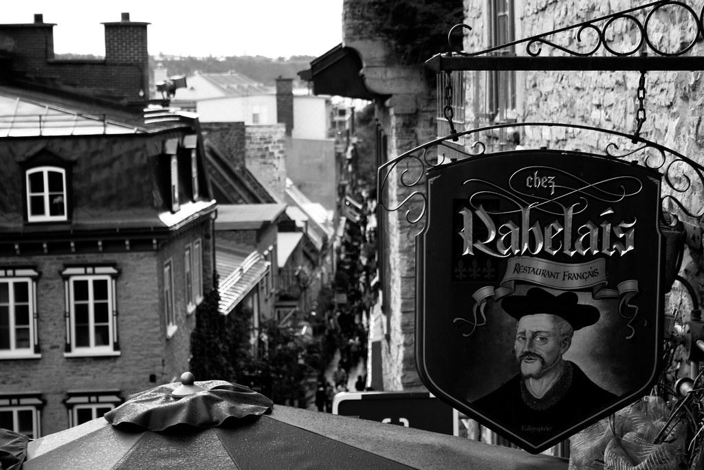 Petit-Champlain - Chez Rabelais