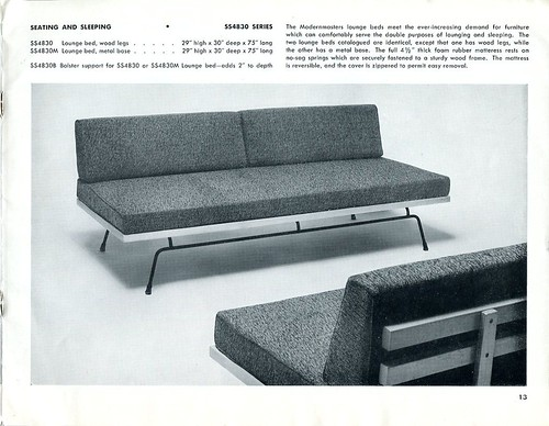 1953 Modernmasters SS4830M & SS4830 Lounge Beds