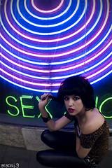 sex (araceli.g) Tags: madrid girl fashion rock trash punk moda 80s araceli maryah gilabert
