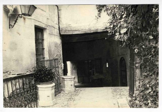 Pasadizo de Balaguer hacia 1970. Colección Luis Alba. Ayuntamiento de Toledo