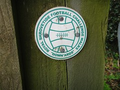 Football Club Walk sign Photo