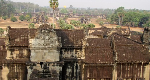 View of Angkor Wat from the Bakan
