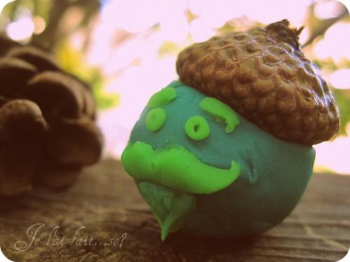 bonjour autumn acorn cap