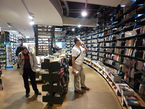 Amsterdam: American book center: by eliazar, on Flickr