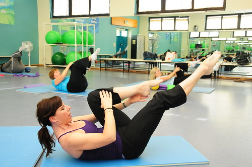 Pilates Class at PHV Activity Center
