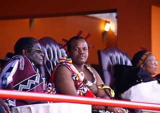 IMG_9969 Robert Mugabe, King Mswati, Queen Mother