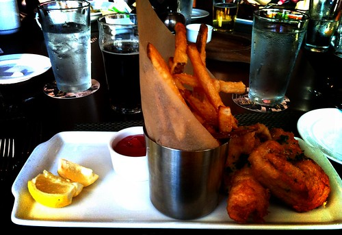 Fish and Chips from Cedric's Tavern