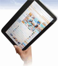 LuvPad AD100 tablet