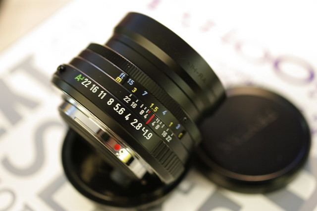 Pentax FA 43mm f/1.9 limited