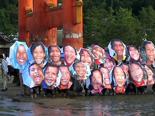 笑顔 傘 プロジェクト2