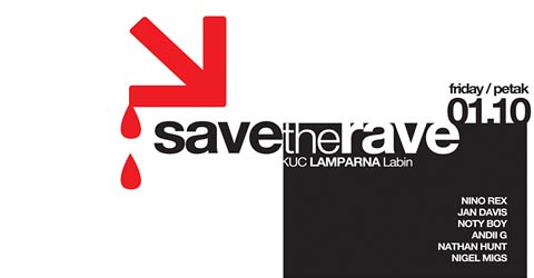 labin lamparna save the rave