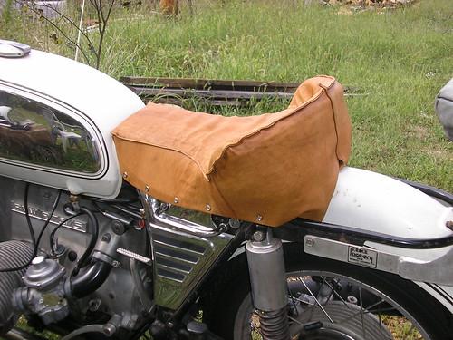 diy motorcycle seat