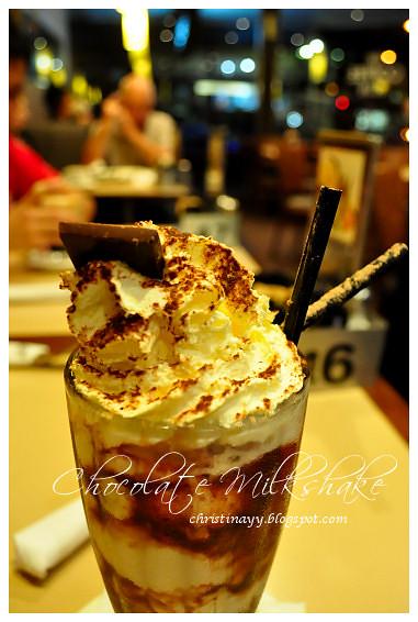 The Coffee Club: Chocolate Milkshake