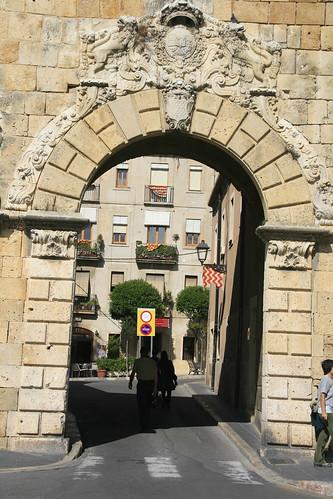 Entrada en el Passeig Sant Antoni