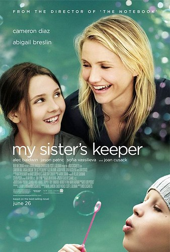 my sister's keeper, pguims, movie, review, adaptation, drama, Cameroon Diaz
