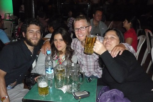 A night out in Trujillo
