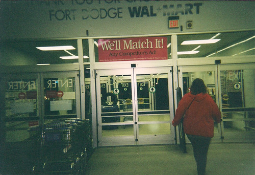 Wal-Mart - Fort Dodge, Iowa - Automatic Doors in 2002 - a photo on