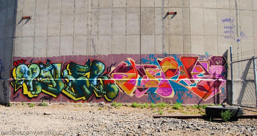 Osker Jurne Graffiti Oakland California.