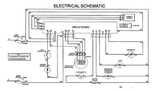Ge Dishwasher Schematic Diagram - Wiring Diagrams Schematics