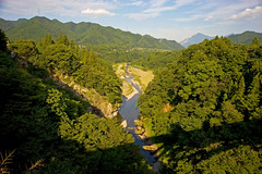 Arakawa River Valley In Mitsumine (aeschylus18917) Tags: mountain mountains green nature japan forest river landscape woods nikon scenery valley  20mm saitama nikkor saitamaken chichibu    natuer  f28d mitsumine 20mmf28d  arakawariver saitamaprefecture bukosan nikkor20mmf28d d700   chichibushi danielruyle aeschylus18917 danruyle druyle   bukomountain  mtbuko
