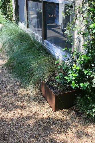cor-ten planters