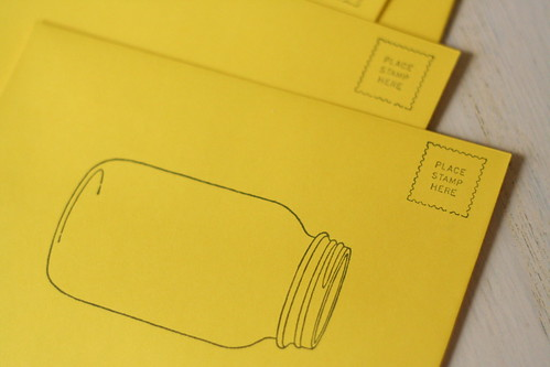 I adore these envelopes.