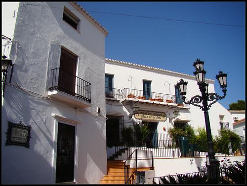 Plaza de la Constitución de Mijas
