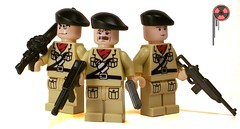 Pack Ratz (*Nobodycares*) Tags: lego wwii worldwarii pack ww2 soldiers guns british troops worldwar2 ratz brickarms