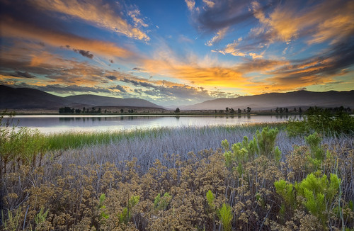Sunrise at Otay Lakes