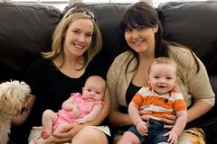 Jenn, Katie, Noah, Gianna