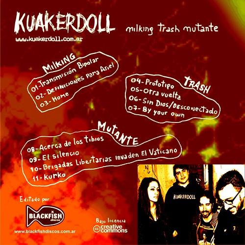 02- Contratapa - Kuaker Doll - Milking Trash Mutante (2010)