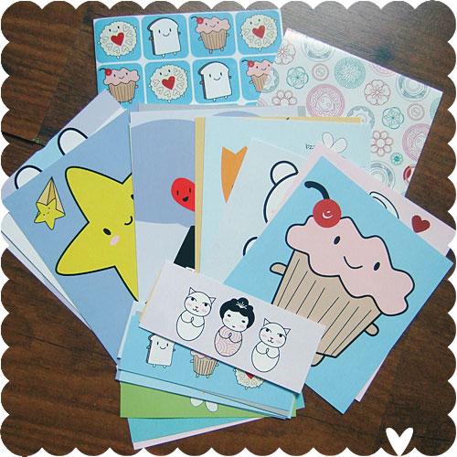 Kawaii Paper Packs