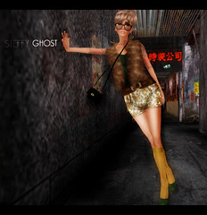 Animal{ArtOfFreebies} (Steffy Ghost) Tags: look vintage fur avatar free tasty sl willow secondlife dressingroom kowloon gf 1l emery ingenue tokio freebie eha 0l 70l lelutka vive9 subscribo seasonshunt