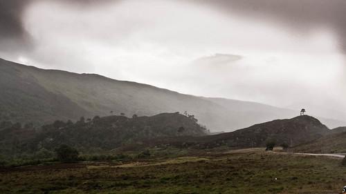 Myst around Loch Beannacharan