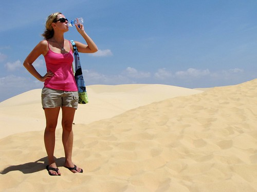 Mui Ne - White Sanddunes - Ash Builds Up a Thirst