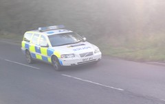 Cheshire Roads Policing Volvo V70 T5 (themilkman123) Tags: road volvo cheshire crewe t5 officer traffice v70 policing