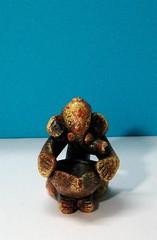 Ganesha133 (ramakan) Tags: ganesha lord days 365 fibre pillayar vinayagar ganapathi