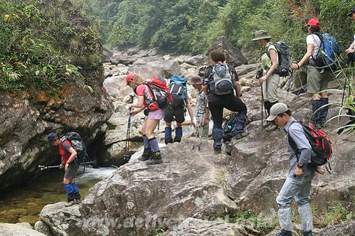 Trek Fansipan Mt, Vietnam