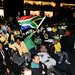 South Africa fans at WSDE VIP Sports Lounge WSDE