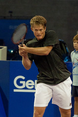 Wayne Ferreira after a backhand - by maartmeester