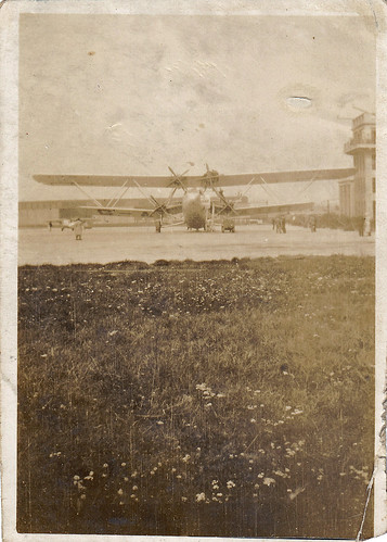 Handley Page HP.42 'Hanno' at Croydon airport. London.
