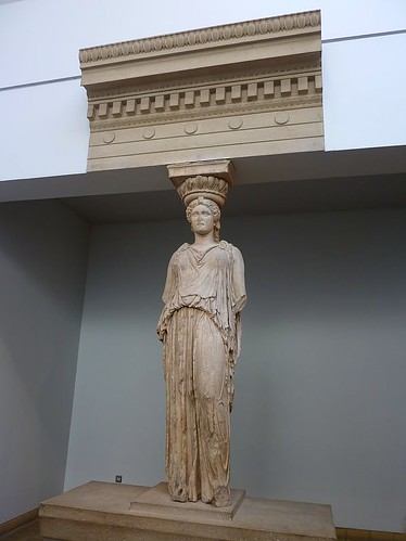 Caryatid from the Erechtheion  (British museum)