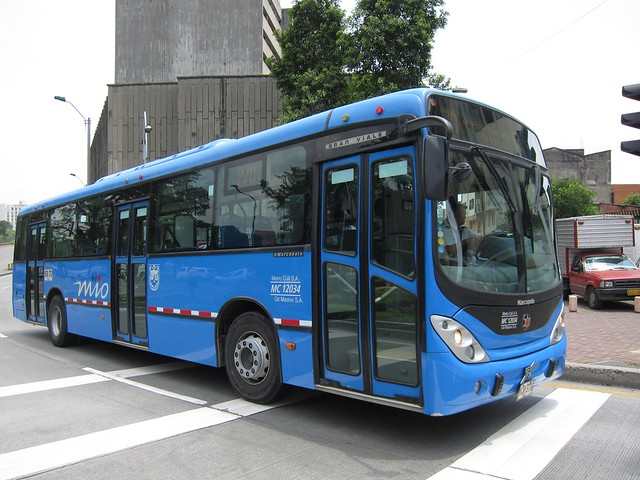 Cali's MIO bus