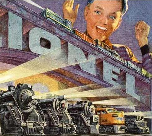 Lionel Trains!