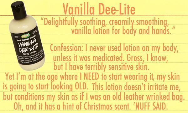 Vanilla Dee Lite