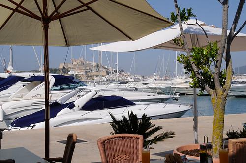 Cafe Sidney, Ibiza restaurant, Marina Botafoch
